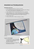 Arbeitsblatt zum Pendelquadranten - WIS