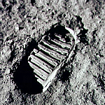 """That's one small step for man, one giant leap for mankind"""